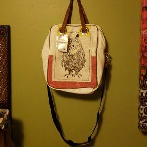 Kensie Girl Owl Crossbody Purse